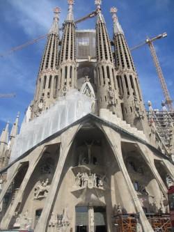 Entrée de La Sagrada Familia