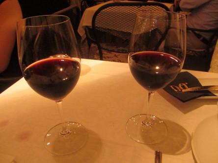 Vin rouge espagnol