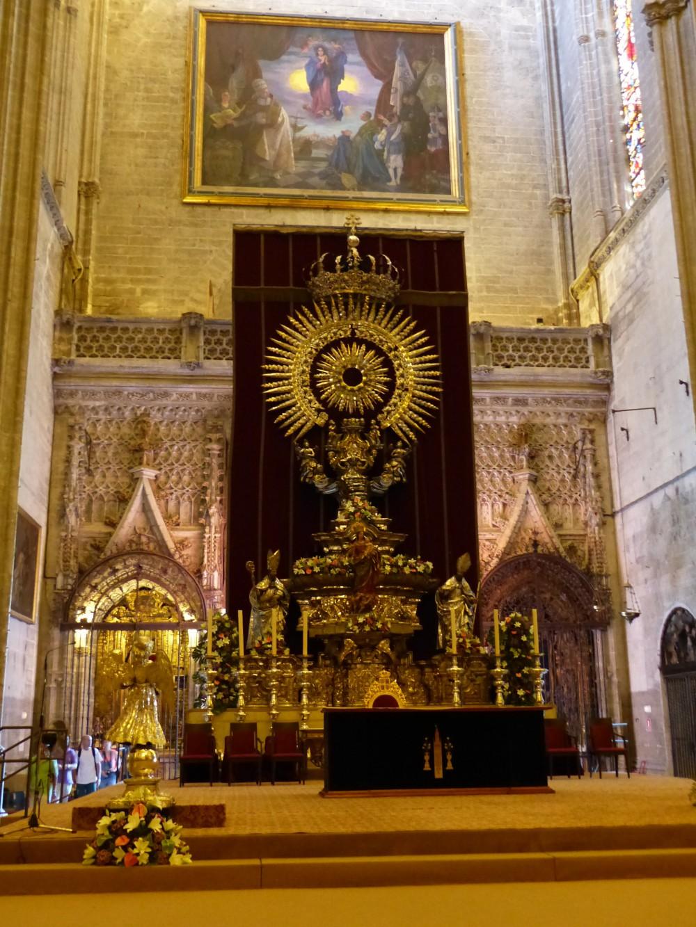 Choeur Cathédrale de Séville