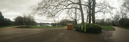 L'entrée du parc, pas mal !