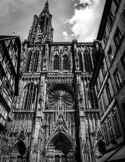 La façade de la Cathédrale de Strasbourg