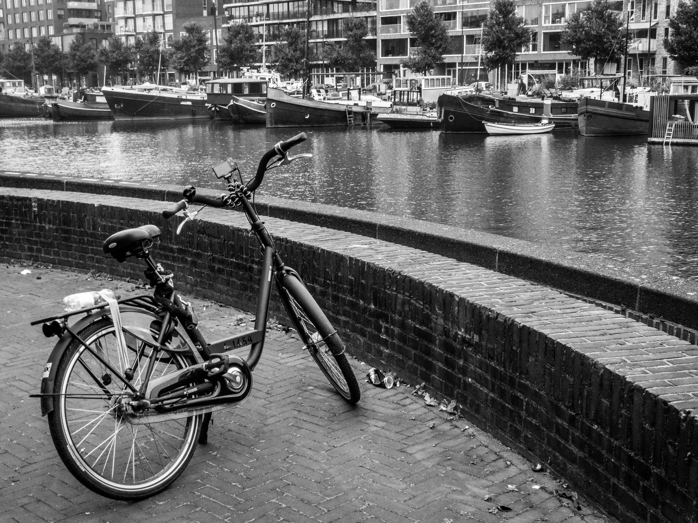Balade à vélo à Amsterdam