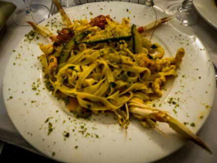 Pâtes siciliennes aux fruits de mer