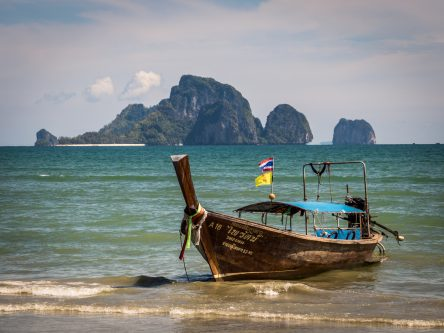Les célèbres longtail boat
