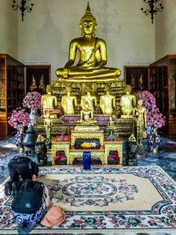 Vénération de Buddha