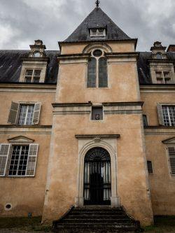 Entrée du Château de Fleville