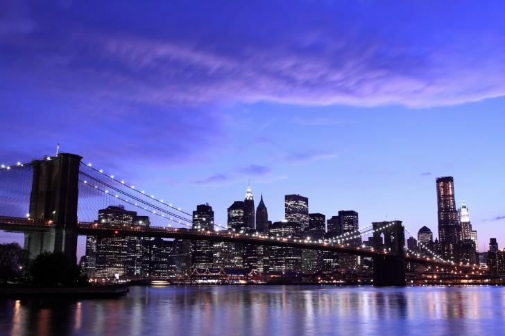 Le célèbre Brooklyn Bridge de New-York