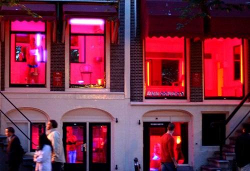 Quartier Rouge de nuit