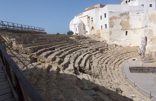 Théatre Romain à Cadix