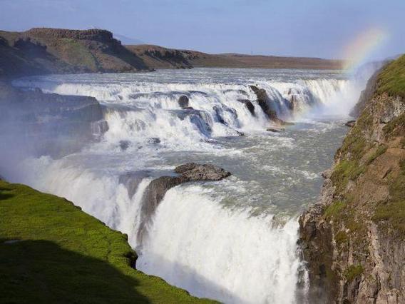 chute d'eau de Gullfoss