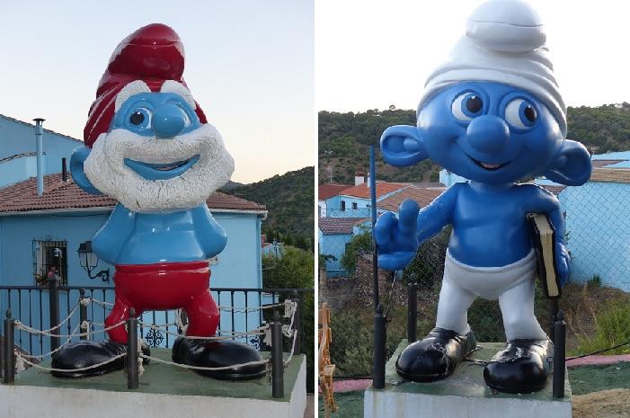 Statues des Schtroumfs