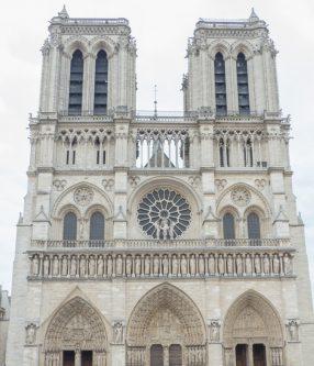 Notre-Dame-de-Paris vue de face