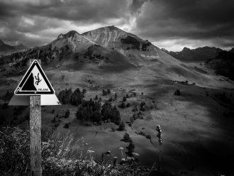 montagne-noir-blanc
