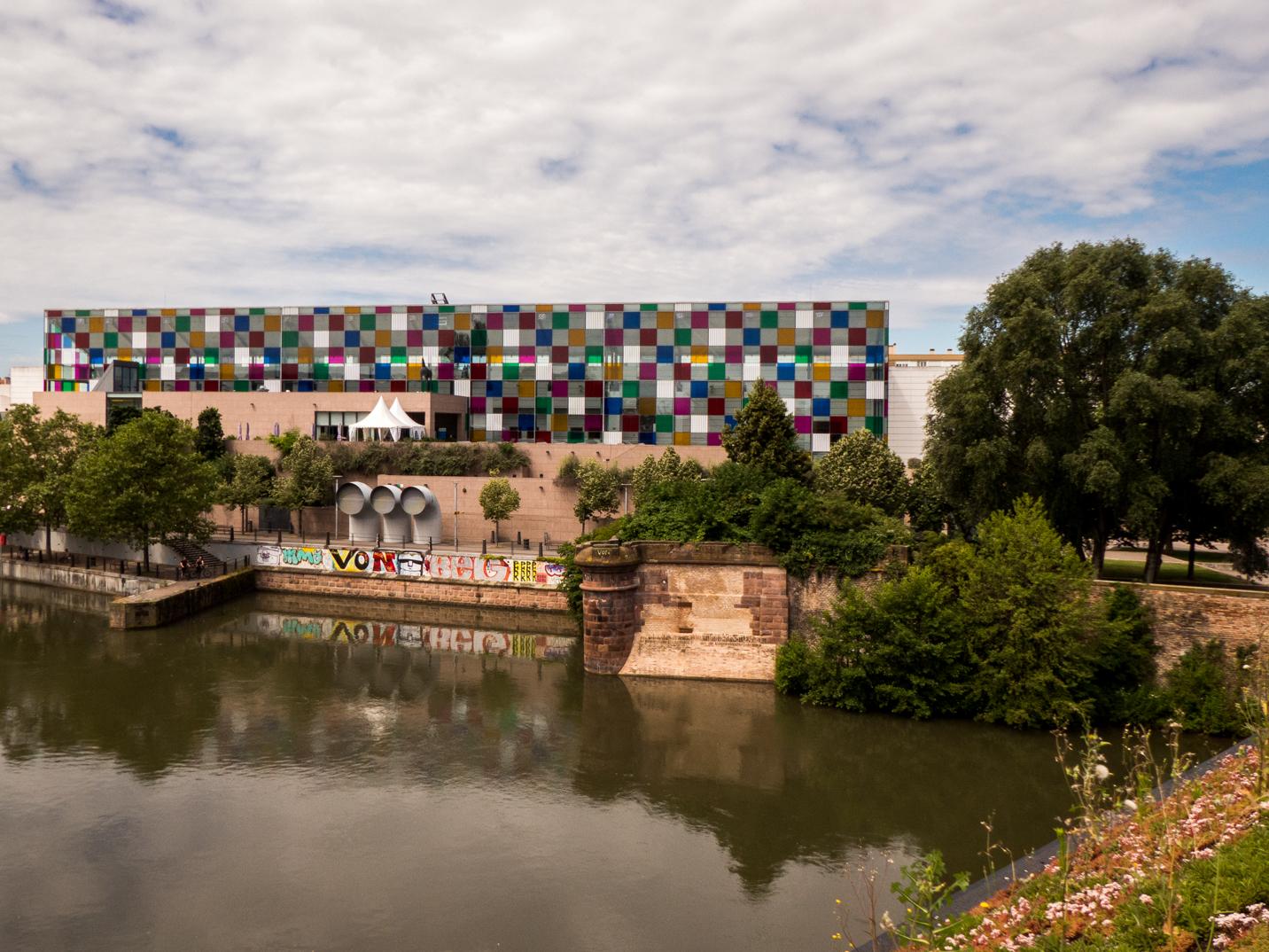 Vue de la terrasse du barrage Vauban