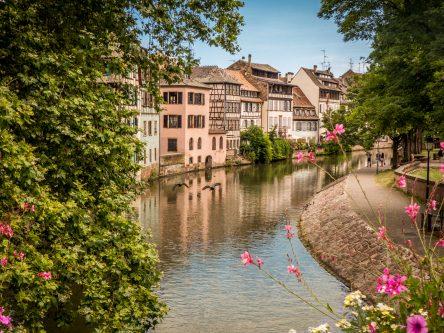 Les canaux de Strasbourg