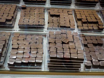 Gamme de chocolats Durand