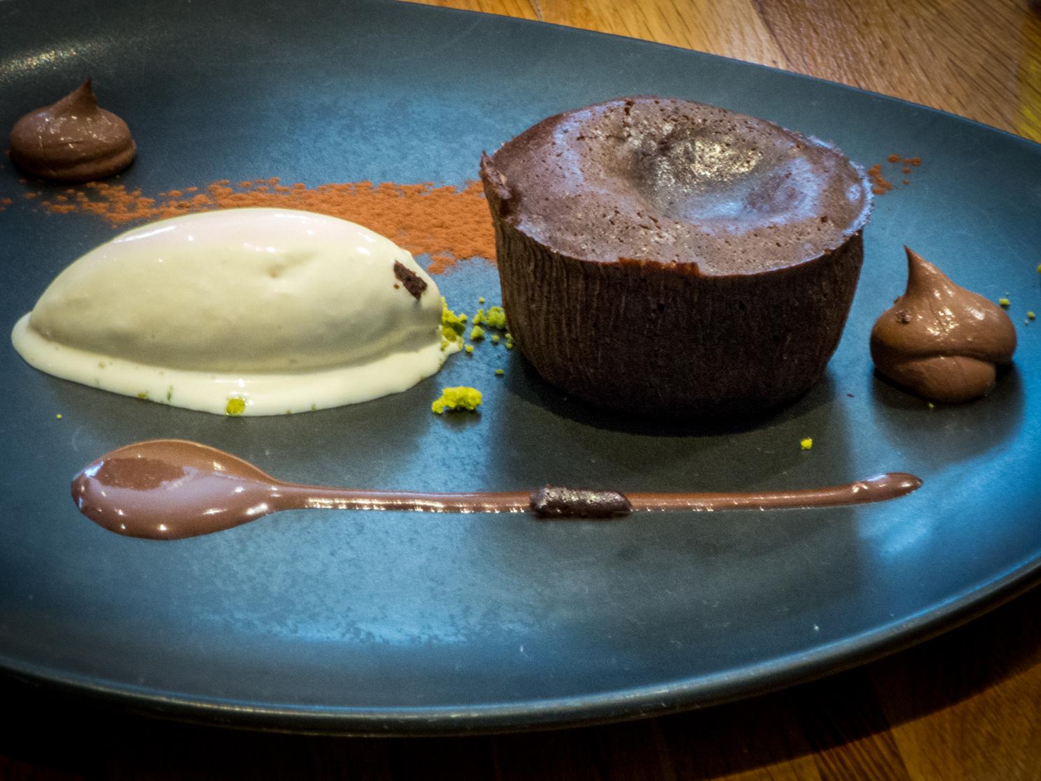 Fondant au Chocolat, Atelier des gourmets Rennes