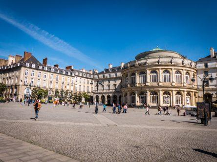 la place de la Mairie de Rennes