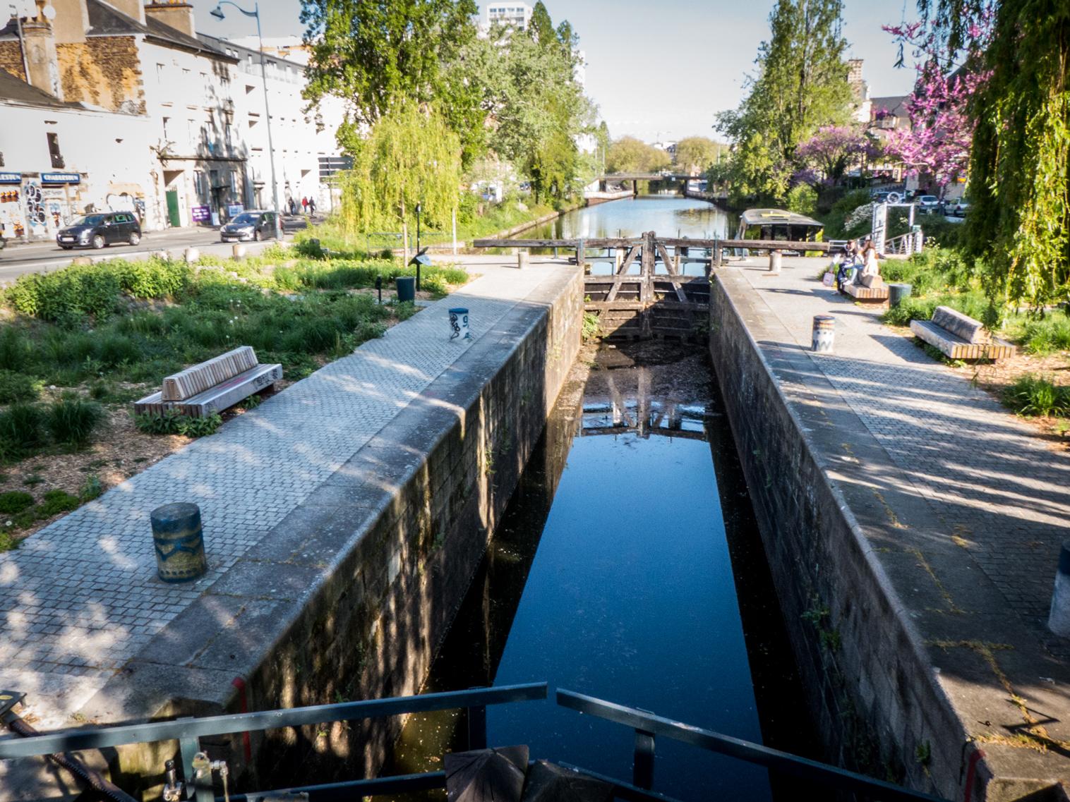 Quais du Canal Saint-martin à Rennes