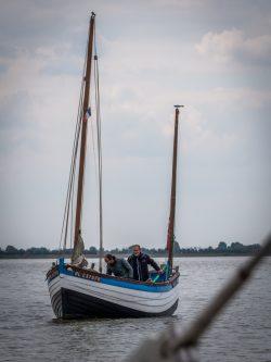 Bateau de pêche en Baie de Somme