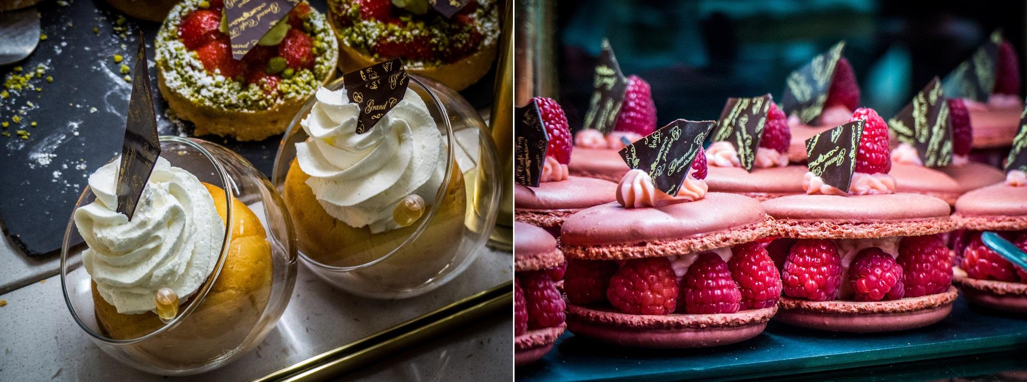 Desserts au Grand Café Sainte-Foy