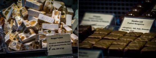 Chocolats et Nougats de la Maison des soeurs Macaron