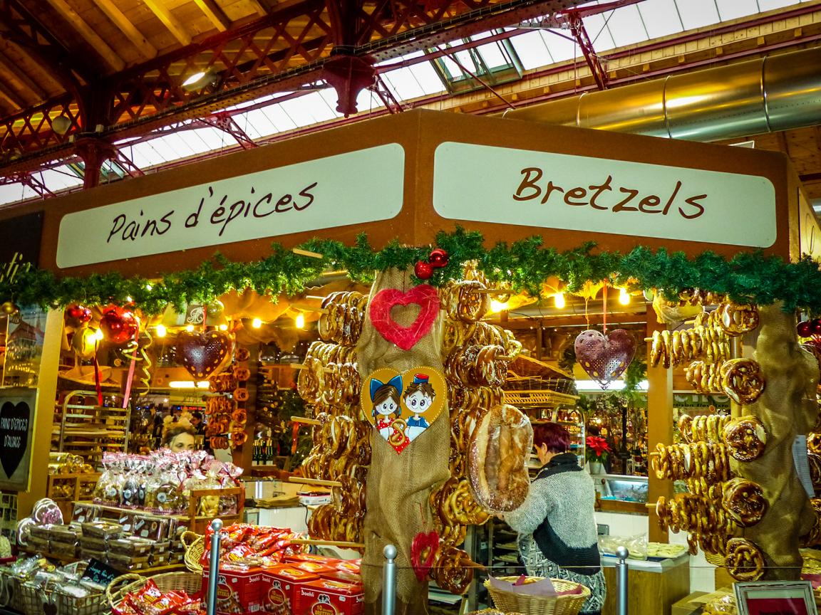 Le marché couvert de Colmar