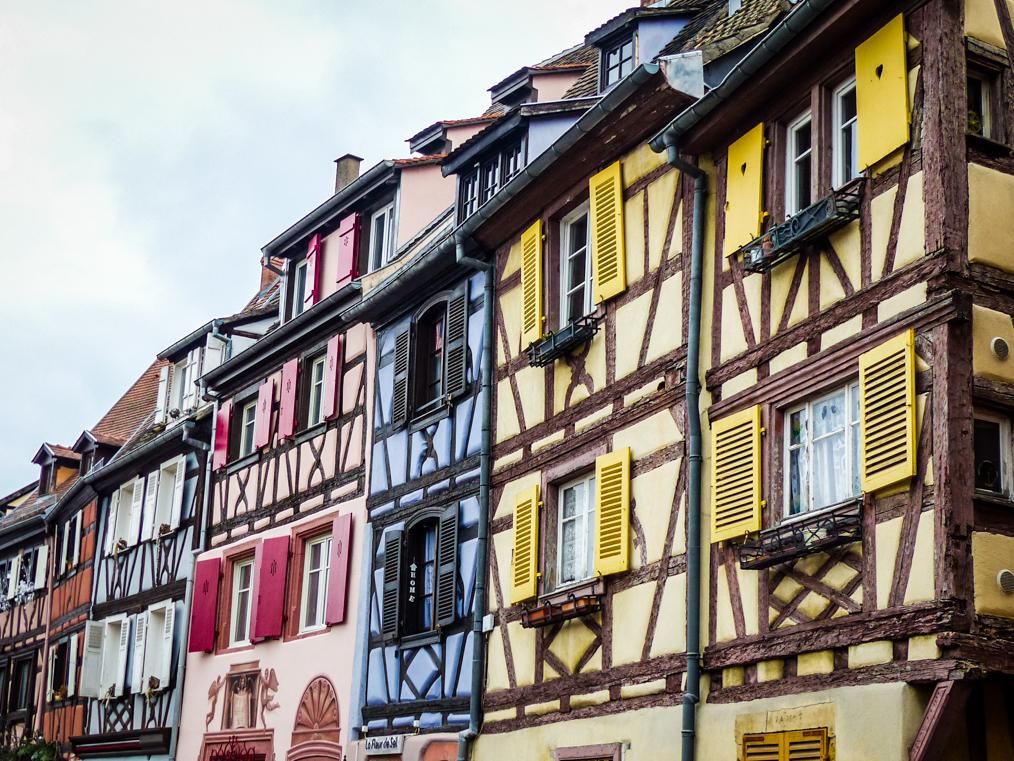 Les maisons multicolores de la Petite Venise