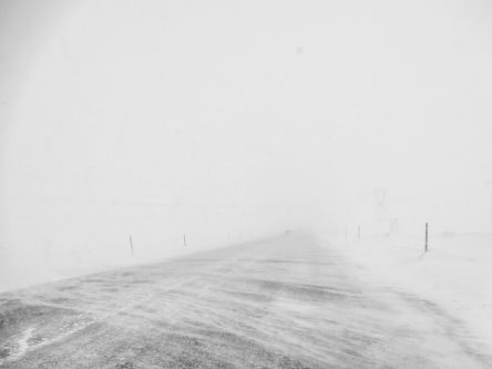 Une belle tempête islandaise...