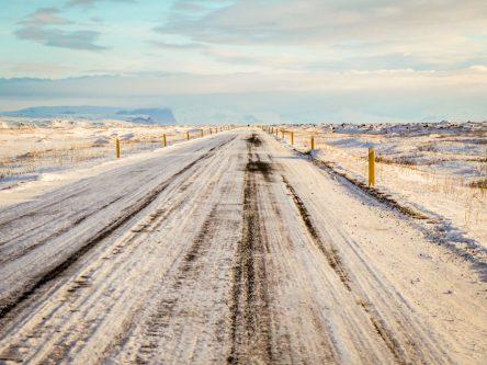 Rien ne vaut une bonne route glacée :)