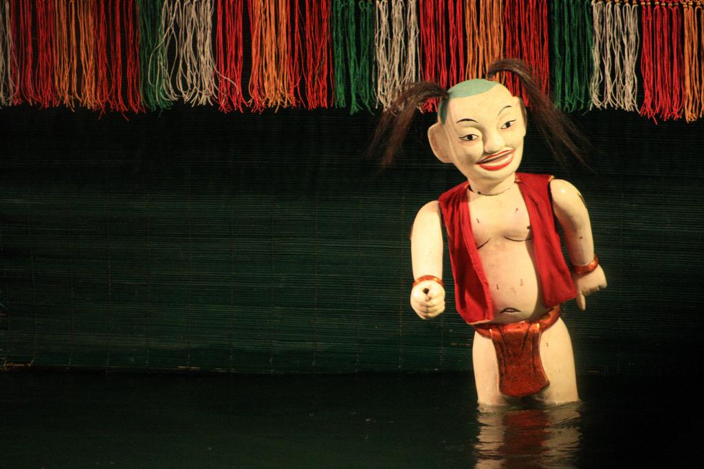 Le célèbre Water Puppet Show
