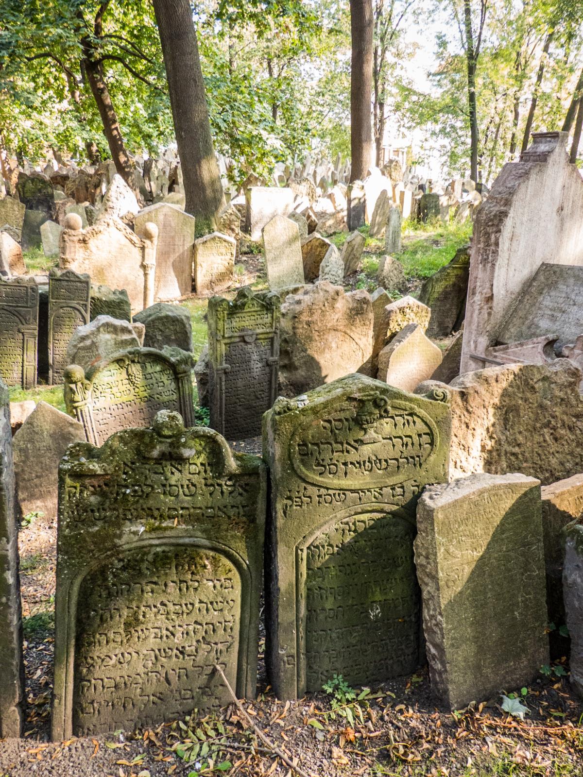 cimetiere juif prague