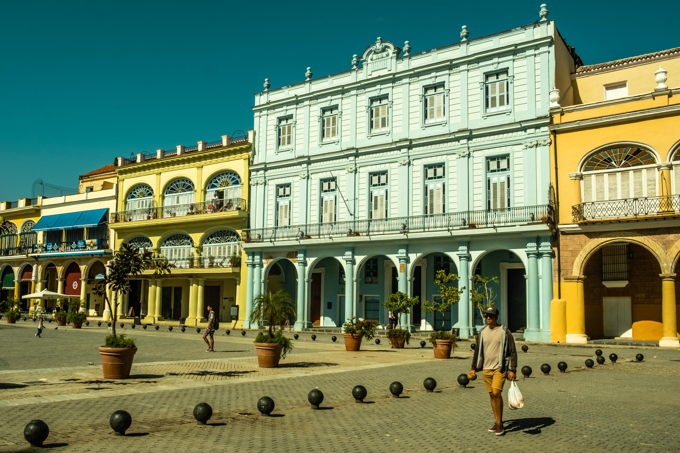 Plaza Vieja, une des plus belles places de La Havane