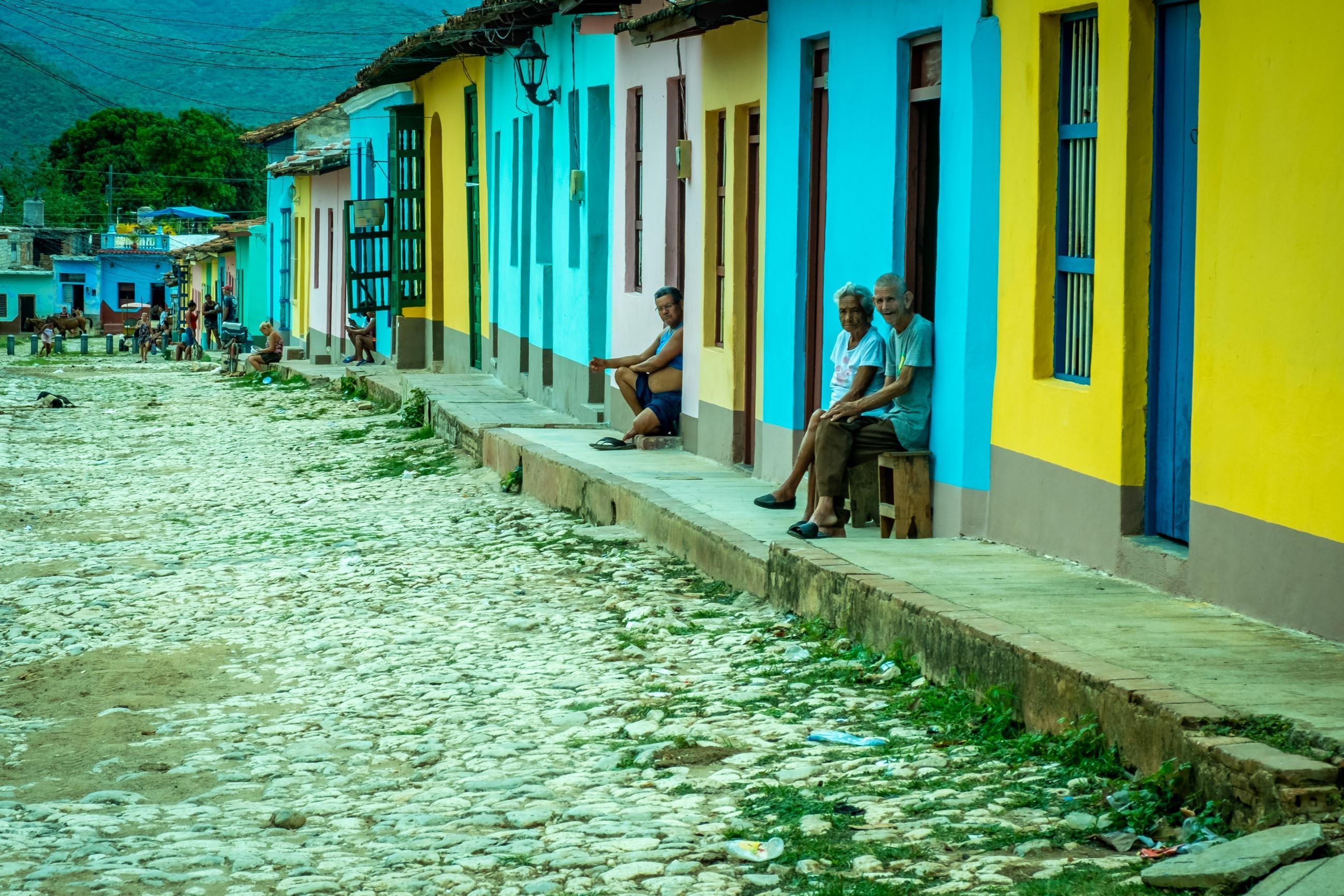 Trinidad et ses superbes rues pavées et colorées