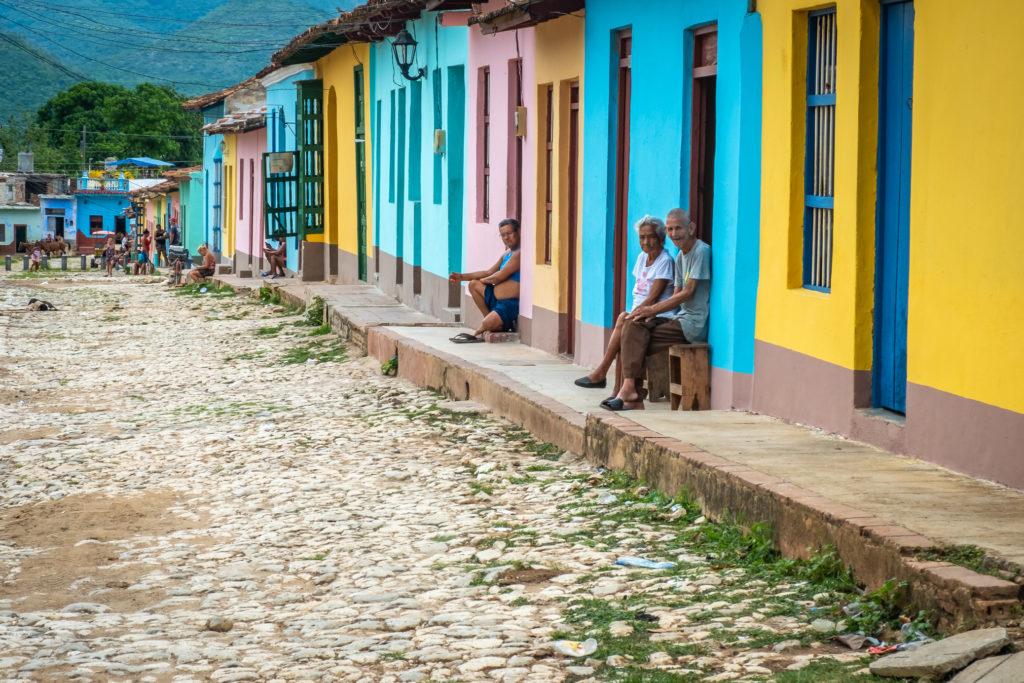 Les ruelles de Trinidad de Cuba