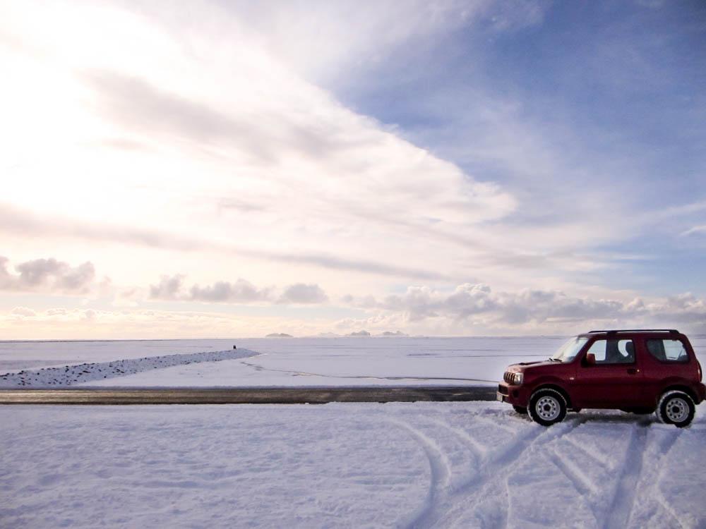 Voiture Seljalandfoss